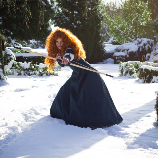 Merida in the Snow 001