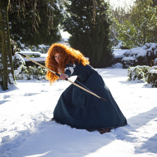 Merida in the Snow 002