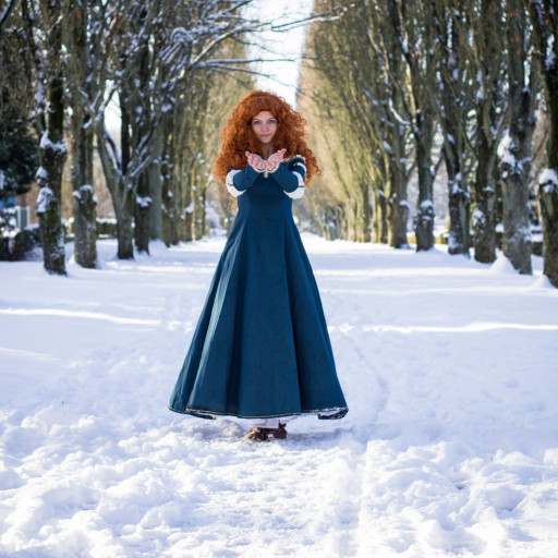 Merida in the Snow 005