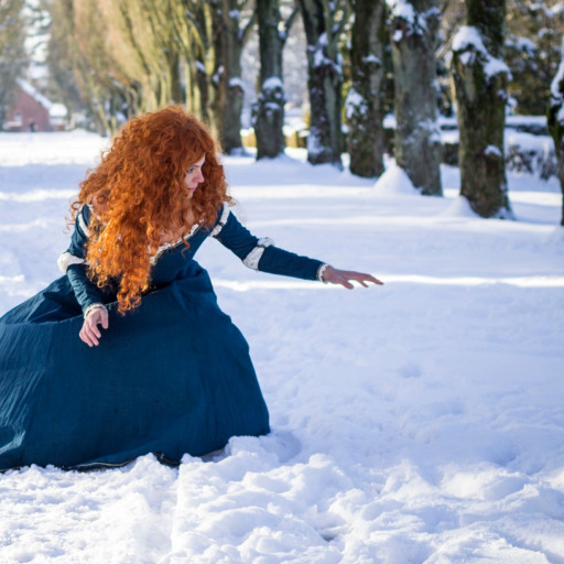 Merida in the Snow 006