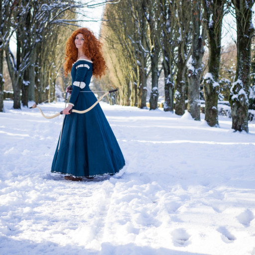 Merida in the Snow 007