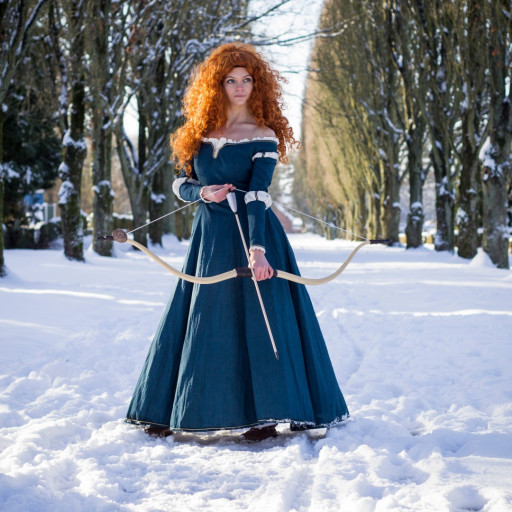 Merida in the Snow 008