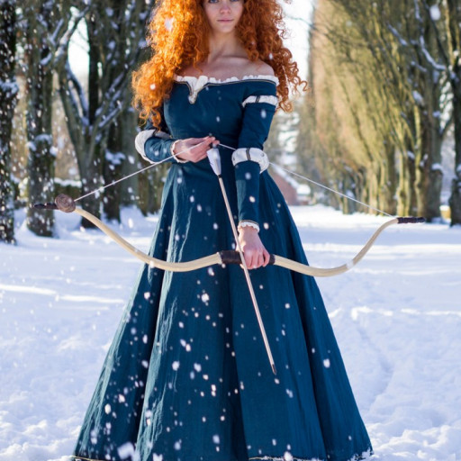 Merida in the Snow 009