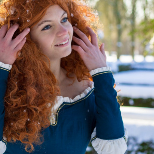 Merida in the Snow 012