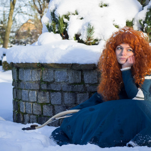 Merida in the Snow 016
