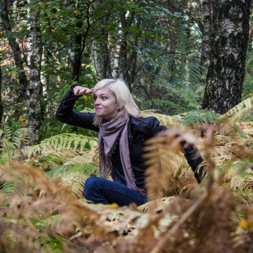 Cecilie in the Forest 007