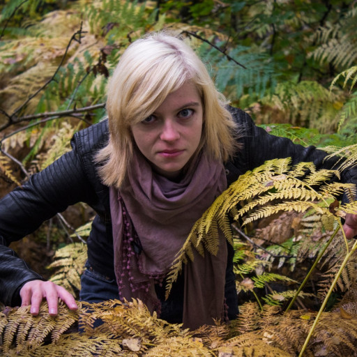 Cecilie in the Forest 008