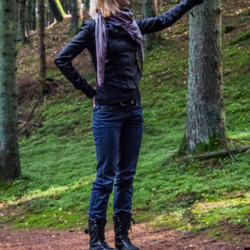 Cecilie in the Forest 012