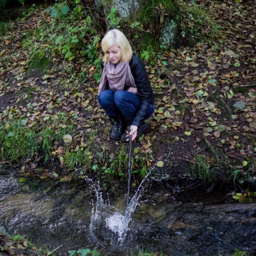 Cecilie in the Forest 021