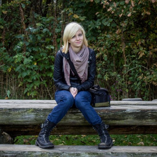 Cecilie in the Forest 022